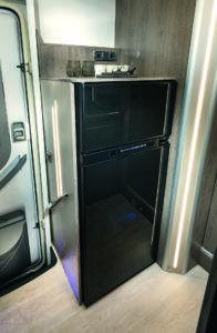 Maxi réfrigérateur camping-car